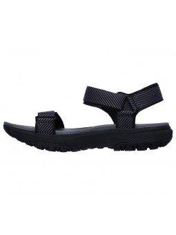 Comprar Sandalias Skechers Outdoor Ultra Cherry Creek, modelo 16210, color negro bkgy, vista lateral exterior