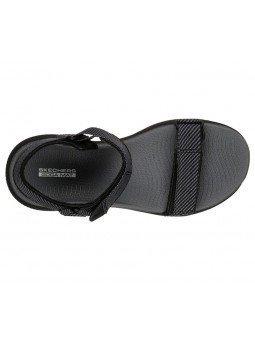 Comprar Sandalias Skechers Outdoor Ultra Cherry Creek, modelo 16210, color negro bkgy, vista aerea