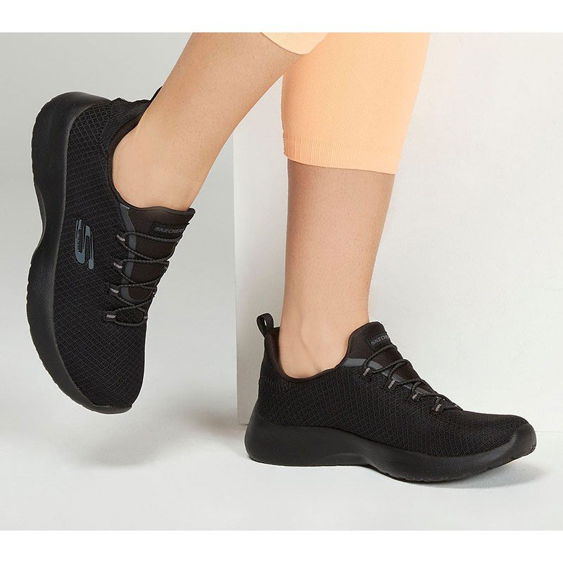 zapatillas deportivas skechers dtnamigth, color negro, portada