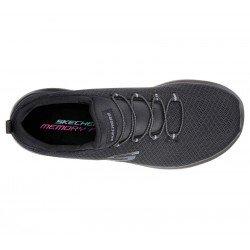 zapatillas deportivas skechers dtnamigth, color negro, vista superior