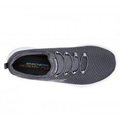 zapatillas deportivas skechers dtnamigth, color gris, vista superior