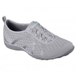 Zapatillas skechers relaxed fit breather easy, modelo 23028, color Gry gris, vista foto portada