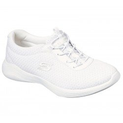 Zapatillas skechers envy sport active, modelo 104032, color blanco Wht, vista portada