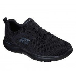 Zapatilla skechers Sport Summits Brisbane, modelo 232057, color negro BBK