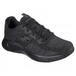 Zapatillas deportivas SKECHERS Solar Fuse Kryzic, modelo 52758, color BBK Negro, vista portada