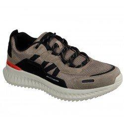 Zapatillas deportivas SKECHERS Matera 2.0  Ximino, modelo 232011, color TPBK Taupe negro, con cordones, vista portada