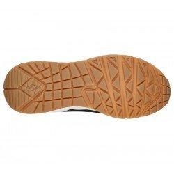 Zapatillas deportivas SKECHERS Uno Stand Hi the Hunt, modelo 155007, cámara de aire, animal print, vista suela