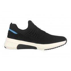 Zapatillas deportivas Skechers Mark Nason Los Angeles, 222006 BLK Negro, cordones elásticos, vista portada