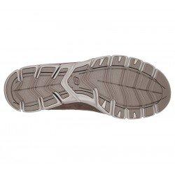 Zapatillas Deportivas Skechers Gratis Fine Taste 23356 DKTP Taupe, con elástico, vista suela