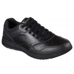 Zapatillas Casual Relaxed Fit Elent Velago 65406 BBK Negro, con cordones, vista portada