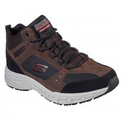 Bota Skechers Relaxed Fit Oak Canyon Ironhide 51895 CHOC Marrón, con cordones, vista portada