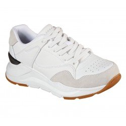 Zapatillas deportivas Skechers Street Rovina Cool to the Core 155246 WHT Blanco, con cordones, foto portada
