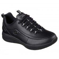 Zapatillas deportivas Synergy 2.0 12363 BBK Negro, con cordones, vista portada