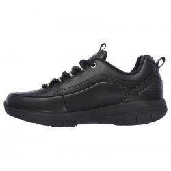 Zapatillas deportivas Synergy 2.0 12363 BBK Negro, con cordones, vista interior