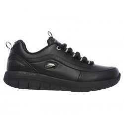 Zapatillas deportivas Synergy 2.0 12363 BBK Negro, con cordones, vista lateral