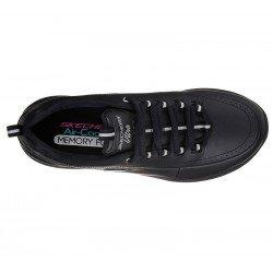 Zapatillas deportivas Synergy 2.0 12363 BBK Negro, con cordones, vista superior