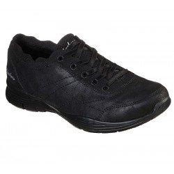 Zapatos Casual Skechers Seager Schollarly 158175 bbk Negro, vista portada.
