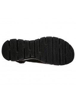 Bota Skechers Synergy Collab 44779 BBK Negro, vista suela