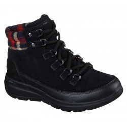 Botines Skechers On the GO Glacial Ultra 144152 BLK Negro - Tartan, vista portada