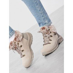 Bota montaña Skechers Relaxed Fit Trego Falls Finest 167178 TPE Taupe, vista outfit